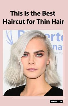 Celebrity hairstylists reveal the best haircut for thin hair. Read all about it here Thin Hair Short Haircuts, Short Thin Hair, Cool Haircuts, Short Hair Cuts, Cool Hairstyles, Short Hair Styles, Braids For Thin Hair, Thin Hair Tips, Copper Brown Hair