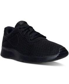 Nike Men s Tanjun Casual Sneakers from Finish Line - Black 11.5 Sportovní  Obuv Nike 4d1b18e675b