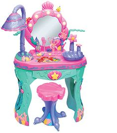 "Pro Anicku, for X-mas Disney Princess Ariel's Magical Talking Salon - Creative Designs - Toys ""R"" Us, Little Girl Toys, Toys For Girls, Little Girls, Toys R Us, Kids Toys, Baby Toys, Toddler Toys, Pastel Decor, Hello Kitty"