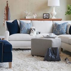 Win a totally cute pet bed from @CryptonFabric (the experts in stain-resistant home fabrics!) and a $100 gift card to domino.com — all you have to do is post a photo of your pet in a stylish room! Tag #dogsofdomino, #dogsofcrypton, @dominomag and #contest for a chance to win and be featured on the @dominomag Instagram. Find rules and how to enter via the link in our bio, and don't forget to follow @CryptonFabric! Furniture and photo by @hhousefurn #SOdomino    #Regram via @dominomag