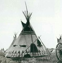 Sharp Had Hundreds of Teepee Photographs Indian Teepee, Native American Tribes, Native Americans, Gramm, Old West, Western Art, Indian Art, One Pic, Vintage Photos