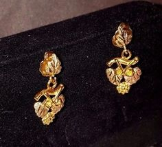$59.99 Landstroms 10K Tri-Color Solid Gold Leaf Grape Cluster Womens Earrings #jewelry #Necklace #vintage #fashion #bracelet #handmade #earrings #vjse2 #teamlove #Bohemian #boho #etsymntt #shopping #gift #ecochic #Pendant #gifts #Glass #beach #Cuff #sea #giftsforhim #Meteorite #boebot #style #Ring #etsyshop #Turquoise #silver #art #jewelry #Necklace #vintage #fashion #bracelet #handmade #earrings #vjse2 #teamlove #bargain #shopping