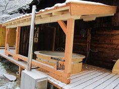 Gerhard - Austria - Jacuzzi, Austria, Gazebo, Home Improvement, Outdoor Structures, Wood, Terrace Ideas, Hot Tubs, Models