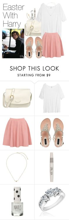 """""""Easter With Harry"""" by onedirectionimagineoutfits99 ❤ liked on Polyvore featuring The Bridge, H&M, Moschino Cheap & Chic, Topshop, Reeds Jewelers and Marc by Marc Jacobs"""