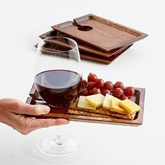 wine appetizer trays from RedEnvelope.com