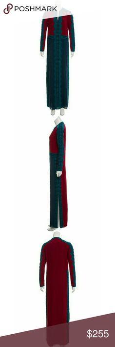 Tory Burch silk evalene caftan Nwt. SB Tory Burch Dresses Maxi