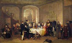 Breakfast inside a Coaching Inn, 1824