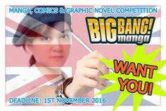 Manga Creator Without Borders!: Manga, Comics and Graphic Novels Competition