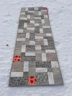 Liv Aagot's Quilt Blog: Double Disappearing Nine Patch Runner