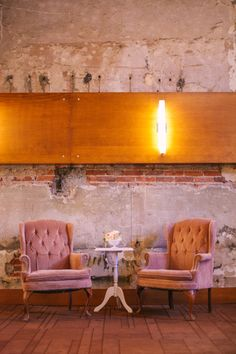A Vintage Affair Events and Rentals - Vintage Chairs for a fun seating area