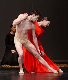 Gorgeous Pina Bausch dance photographed at Paris Opera Ballet