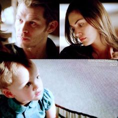 "#TheOriginals 3x22 ""The Bloody Crown"" - Hayley, Klaus and Hope"