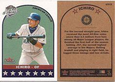 2002 Fleer Tradition Update Curtain Call Ichiro #U371 Baseball Card by tradition update, http://www.amazon.com/dp/B00CEGZHJ2/ref=cm_sw_r_pi_dp_jfYXrb1G65QNK