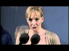 "Harvard commencement speech by J.K. Rowling (Benefits of Failure)  -- ""Rock Bottom is the solid foundation on which you can rebuild your life""."