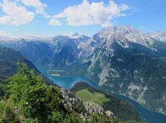 Oh how I love my beautiful homeland - GERMANY !!! Der Königssee liegt rund 160 Kilometer südlich von München