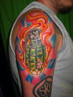 Nick Baxter tattoo