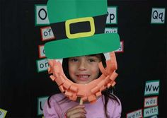 Scholastic Month by Month | Leprechaun Mask
