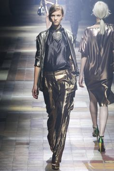 Lanvin // without the weird heart thing. Idea.