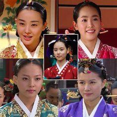 Ladies of the korean series Yi San <3