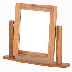 Cherbourg Oak Table Mirror