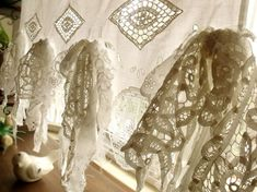 Hey, I found this really awesome Etsy listing at https://www.etsy.com/listing/275810180/french-country-vintage-lace-fringes