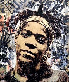 Greg Gossel's Basquiat portrait