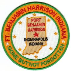 US ARMY POST PATCH, FORT BENJAMIN HARRISON, INDIANAPOLIS, INDIANA              Y