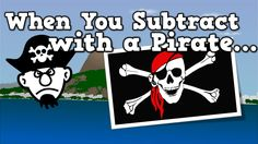 When You Subtract with a Pirate (subtraction song for kids)