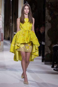 A sunflower yellow dress - Giambattista Valli Haute Couture SS13 Love,love,love this! :-)