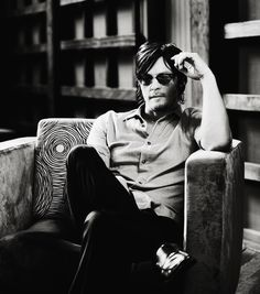 Norman Reedus by Marcus Walters