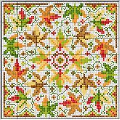 gazette94: free pattern  colors of autumn