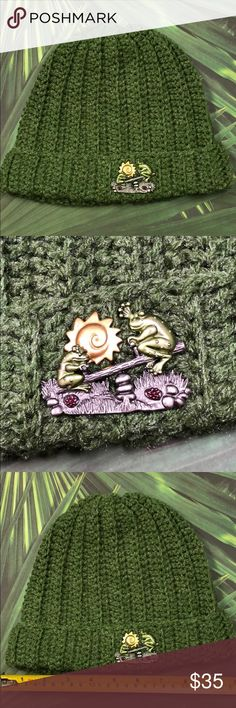 I just added this listing on Poshmark: Frog brooch beanie green fashion hat handmade. hot off the hook Hand Crochet, Crochet Hats, Green Fashion, Beanie Hats, Pewter, Women Accessories, Environment, Teen, Brooch