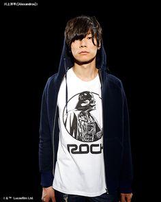 [Alexandros] Yoohei Kawakami 2014/6/10 「rockin'star★」川上洋平[Alexandros]×スター・ウォーズ — kasumi-a: