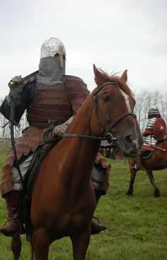 Golden Horde warrior reconstruction