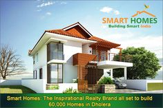Smart Homes: The Inspirational Realty Brand all set to build 60,000 Homes in Dholera.  #Dholera #DholeraSIR #DholeraSmartCity #Gujarat