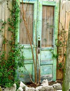 Love rustic doors.  They have such character.
