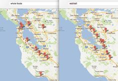 """""""How to tell with Google Maps where the rich people live"""" - via @Glen Robertson"""