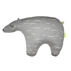 "Cushion Polar Bear ""Knut"" - KIDS MINI OYOY - OYOY Living Design ApS"