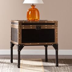 Shop for Harper Blvd Duncan Travel Trunk Side/ End Table. Get free shipping at Overstock.com - Your Online Furniture Outlet Store! Get 5% in rewards with Club O! - 16346594