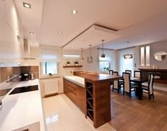 10 Kitchen Layout Mistakes And 30 Open Concept Kitchens (Pictures of Designs & Layouts) - Di Home Design Sweet Home Design, Home Room Design, Interior Design Living Room, House Design, Home Decor Kitchen, Kitchen Interior, Home Kitchens, Küchen Design, Layout Design