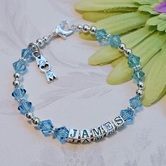 My Sweet Dreams Baby - The Sarah Mother's Bracelet (http://www.mysweetdreamsbaby.com/mothersbracelets/sarah.htm)