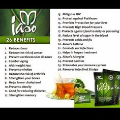 And just exactly what are they saying #Iasotea is good for? See for yourself. http://www.totallifechanges.com/4161671