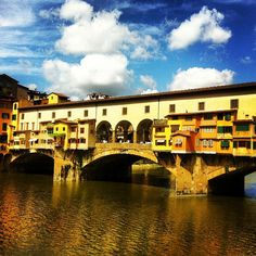 Ponte Vecchio - the oldest and only bridge that survived from the war. Packed and touristy but worth a stroll to glance at jewelry you can't afford. Catch it at sunset or when the live singer is performing.