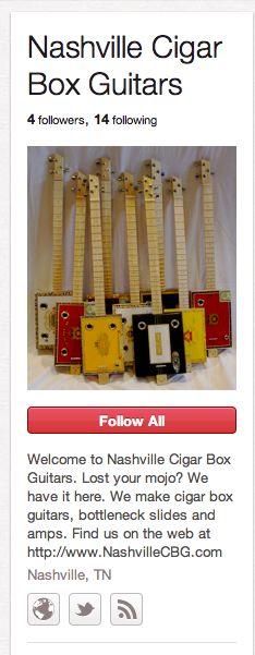 Nashville Cigar Box Guitars