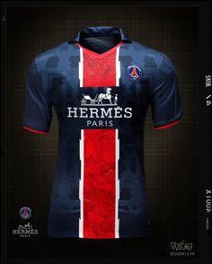 Maillot PSG Hermès - Golem13 Psg, Rugby, Paris Saint Germain Fc, Soccer Shirts, Soccer Jerseys, Jersey Atletico Madrid, Sublime Shirt, Sports Marketing, American Football