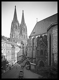 Kölner Dom / #Cologne Cathedral. Germany in the 1920ies