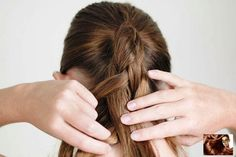 5 Easy steps to 5 Strand Braid with Video Tutorial ~ Cute Girls Hairstyles