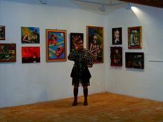 Myself  on my exhibition inHungary, in  2009.