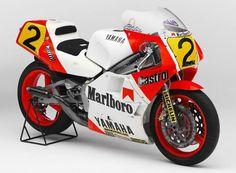 1986 Yamaha YZR500 (0W81)