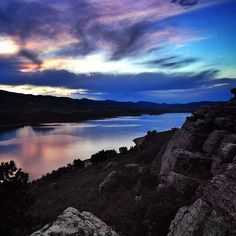 Horsetooth Reserve, Fort Collins Colorado. See more: http://instagram.com/SweetDivergence